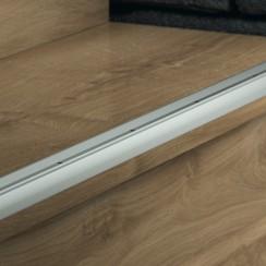 Профиль Pergo Алюминиевый для лестниц серебристый