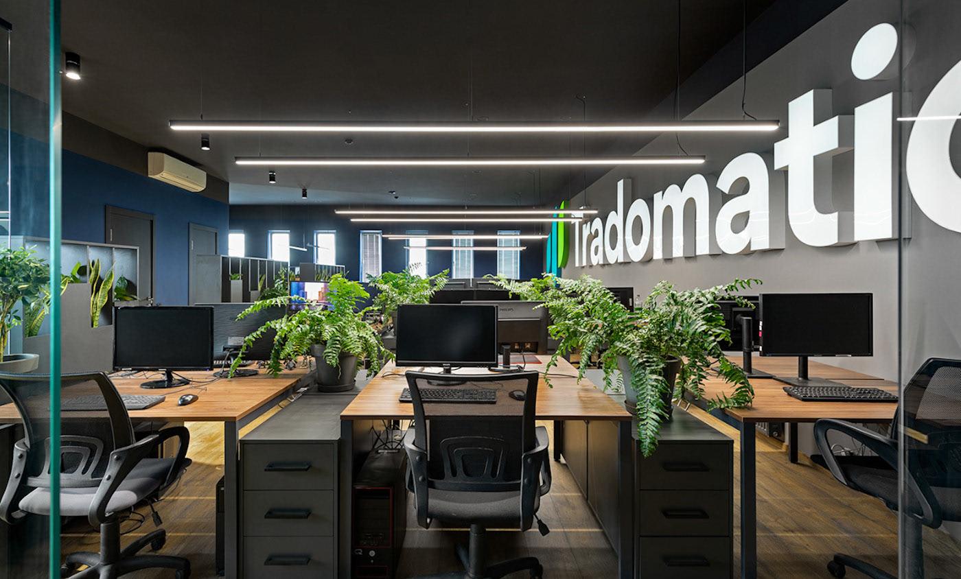 Офис компании Tradomatic