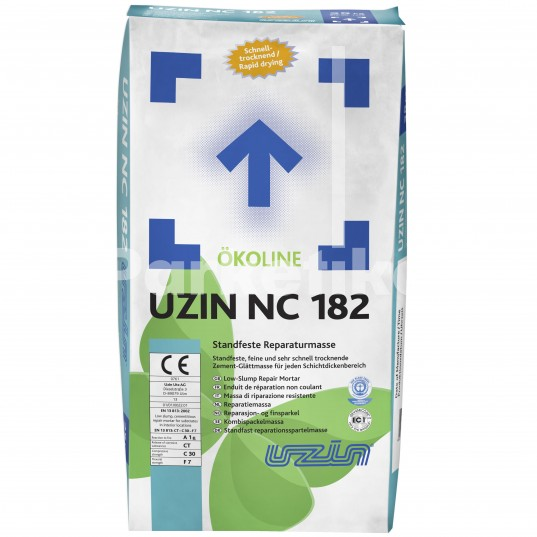 Химия и аксессуары Шпаклевка Uzin NC 182 25 кг