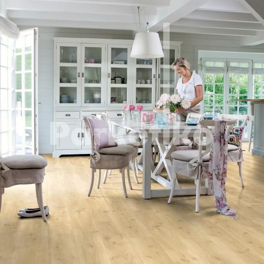 Виниловые покрытия Quick Step Balance glue  Drift Oak beige