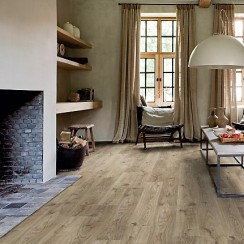 Quick Step Balance click Cottage oak brown grey